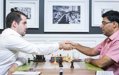 Sinquefield 1: Anand grabs lead as Nepo blunders