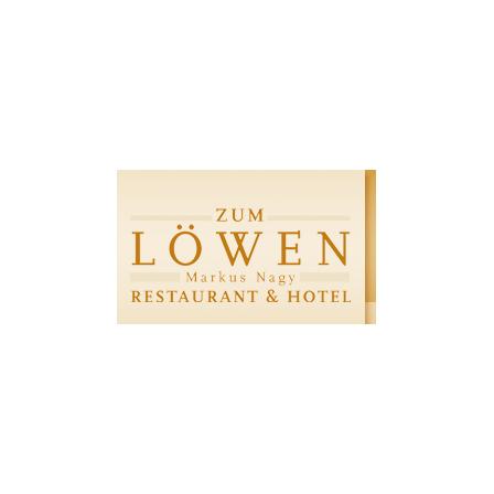 """Restaurant & Hotel """"Zum Löwen"""""""