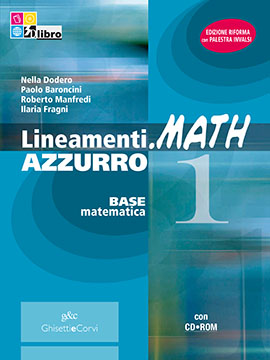 Lineamenti.math AZZURRO vol 1