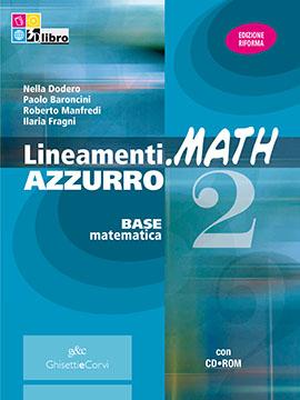 Lineamenti.math AZZURRO vol 2