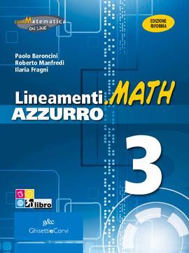 Lineamenti.math AZZURRO vol 3