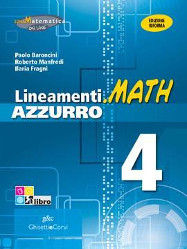 Lineamenti.math AZZURRO vol 4