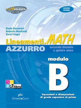 Lineamenti.math AZZURRO Modulo B