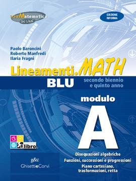 Lineamenti.math BLU Modulo A