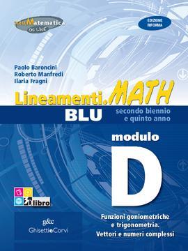 Lineamenti.math BLU Modulo D