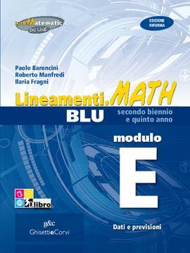 Lineamenti.math BLU Modulo E