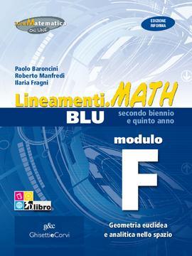 Lineamenti.math BLU Modulo F