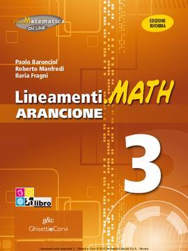 Lineamenti.math ARANCIONE vol 3