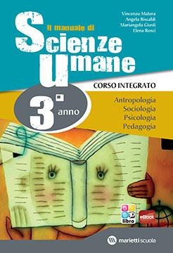 Il manuale di Scienze Umane - 3° anno