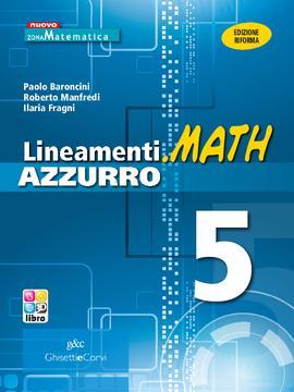 Lineamenti.math AZZURRO vol 5