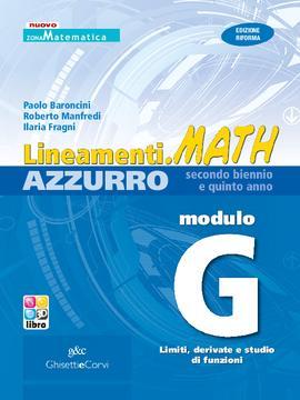 Lineamenti.math AZZURRO Modulo G