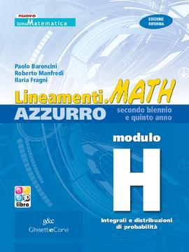 Lineamenti.math AZZURRO Modulo H