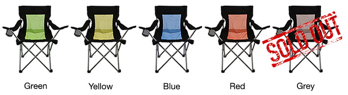 Foldable Colorful Camping Chairs