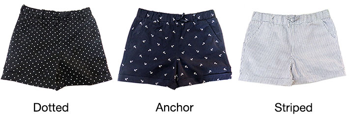 Net Girl's Shorts