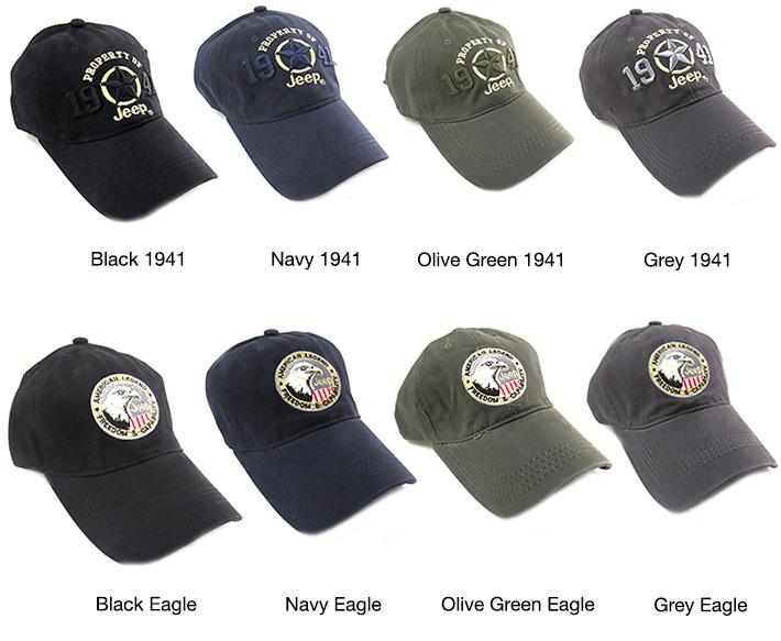 Jeep Baseball Caps