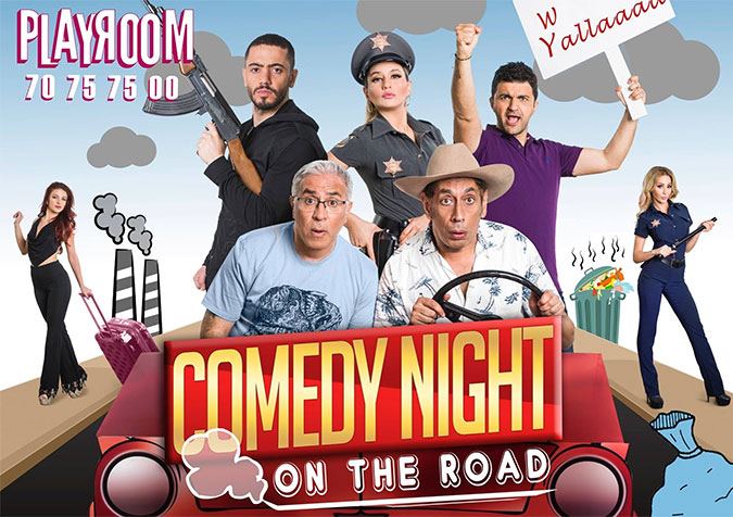 Comedy Night On the Road Show Tickets