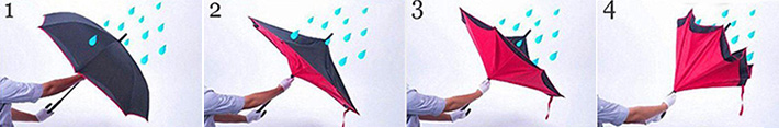 Double-Layered Inverted Umbrella