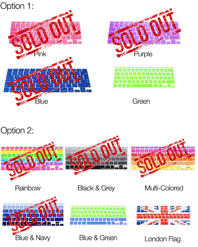 Apple Mac Keyboard Covers