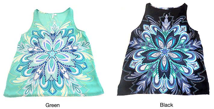 Elle Women's Floral Blouse