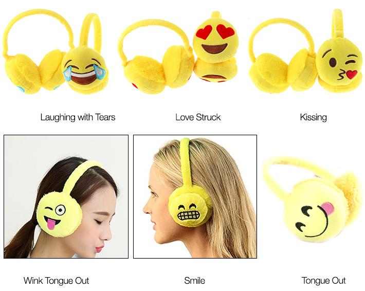 Emoji Earmuffs