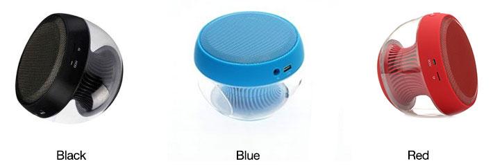 LED 3D Wireless Bluetooth Speaker