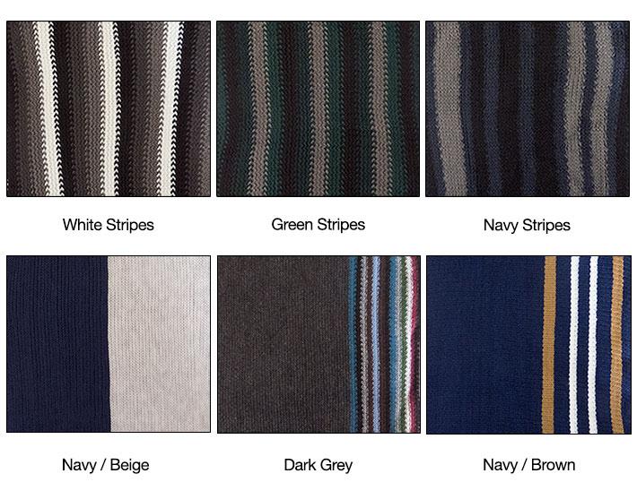 Striped Men's Scarf