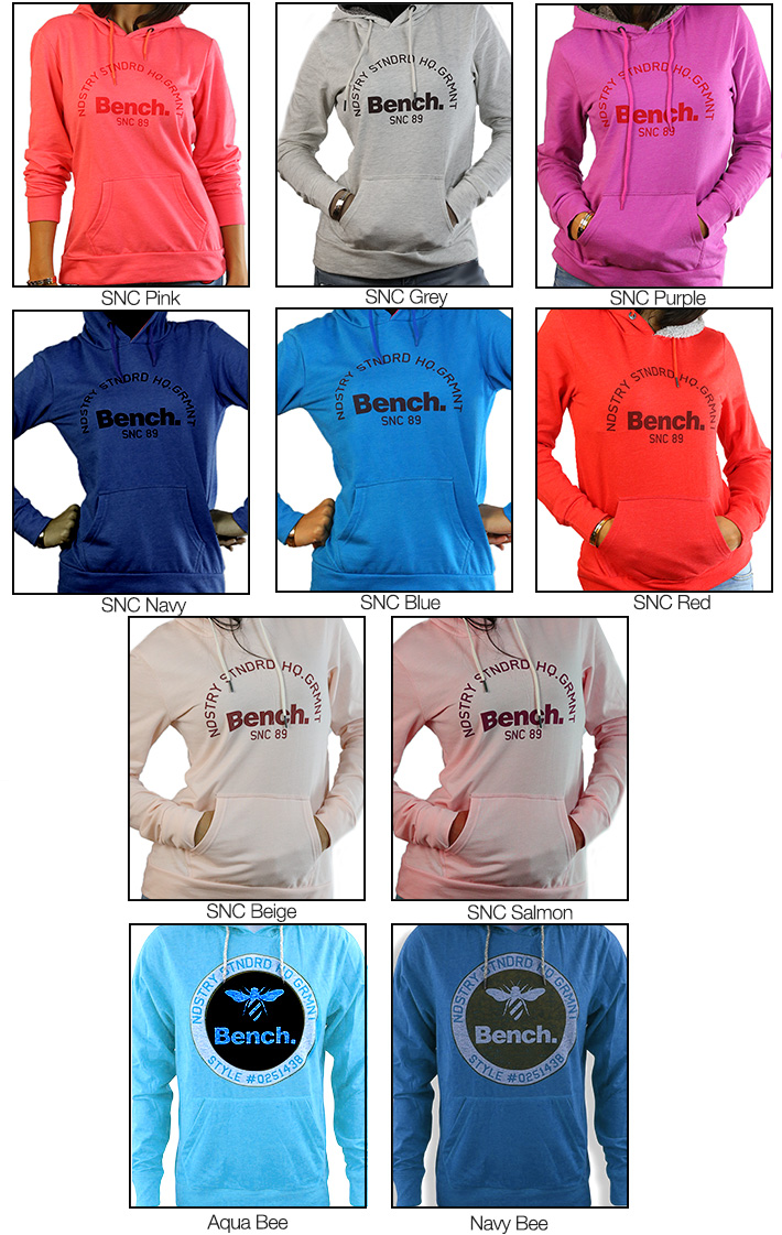 Unisex Bench Hoodies