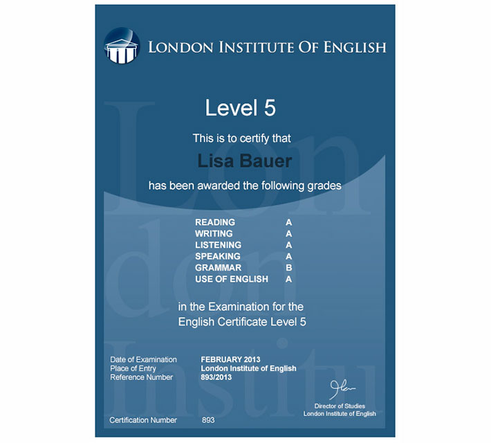 London Institute of English