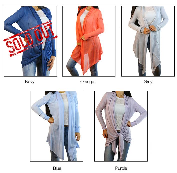 CODE101 Stylish Colorful Cardigans