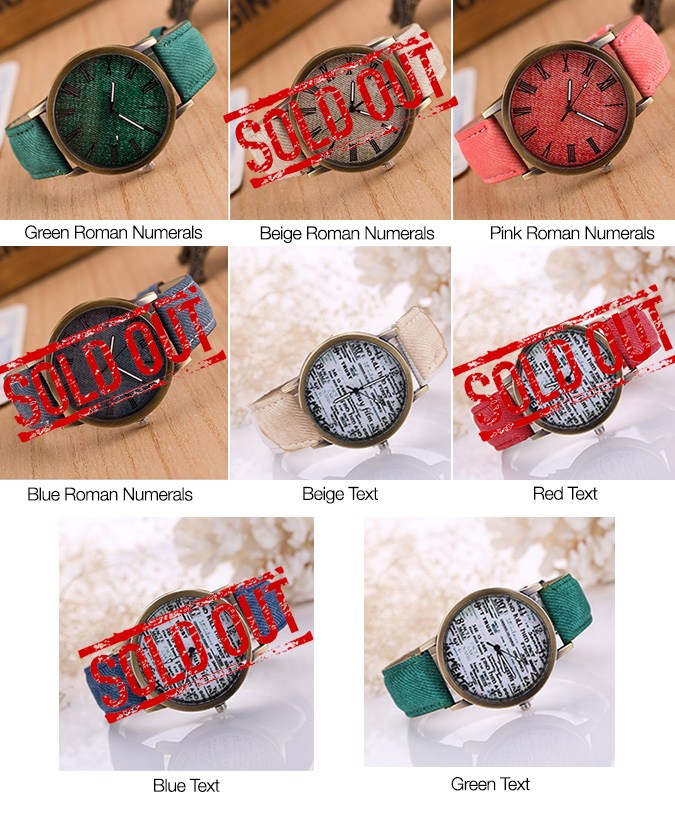 Jeans Watches