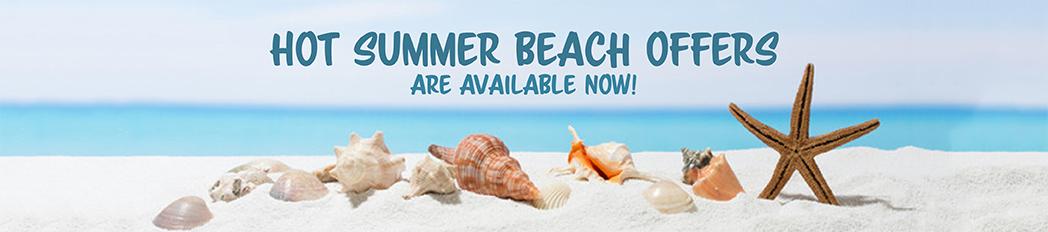 Hot Summer Beach Deals