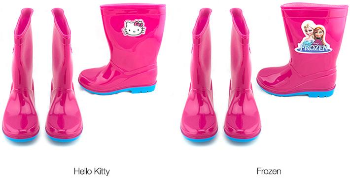 Frozen / Hello Kitty Kids Rain Boots