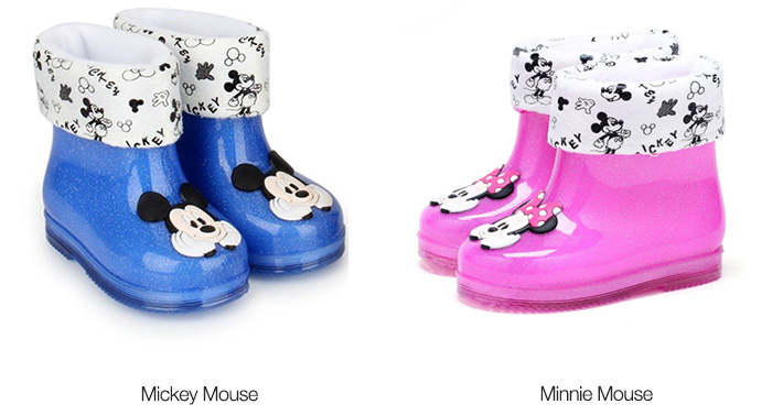 Mickey / Minnie Mouse Kids Rain Boots