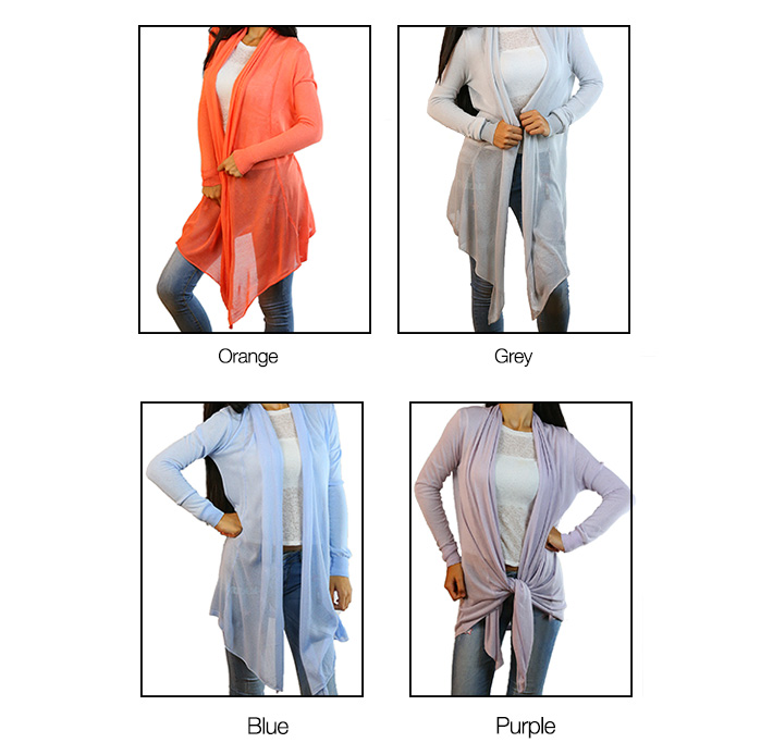 CODE101 Stylish Colorful Cardigans