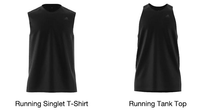 Adidas running singlet t-shirt