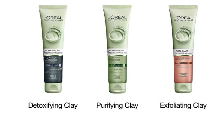 Clay wash