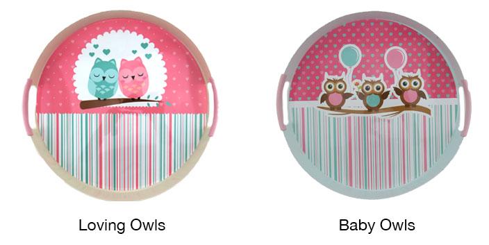owl trays