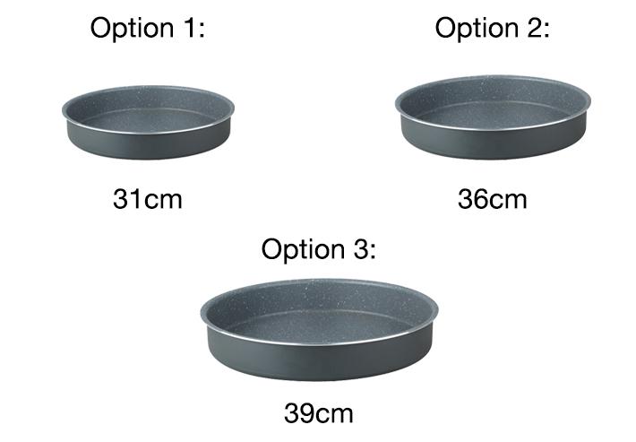 round cuisine grey