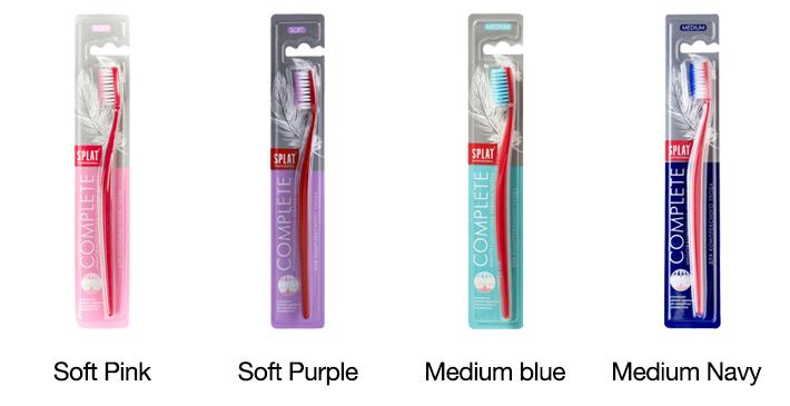 splat complete toothbrush