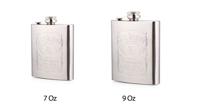 Stainless Steel Alcohol Flasks
