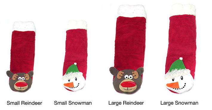 Plush Christmas Winter Socks
