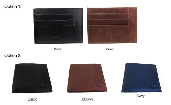 Sergio leather wallets