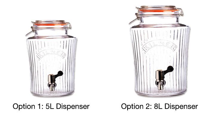Kilner Clip Top Vintage Drinks Dispenser