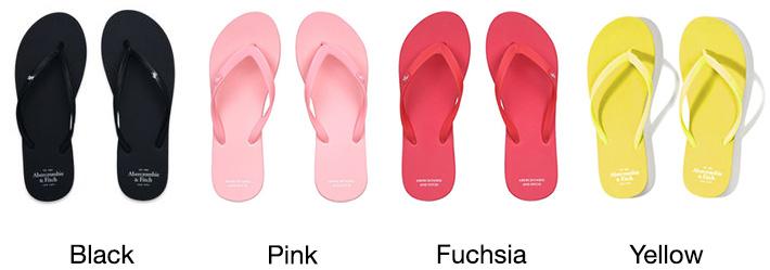 Abercrombie & Fitch Women's Flip Flops