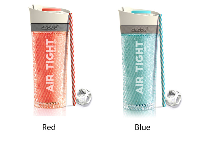 Asobu Pump & Chill Air Tight Insulated Tumbler Bottle