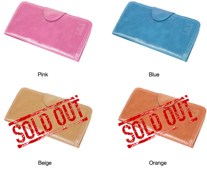 Colorful Leather Women's Wallets
