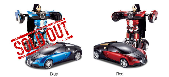 Transofmer RC Car