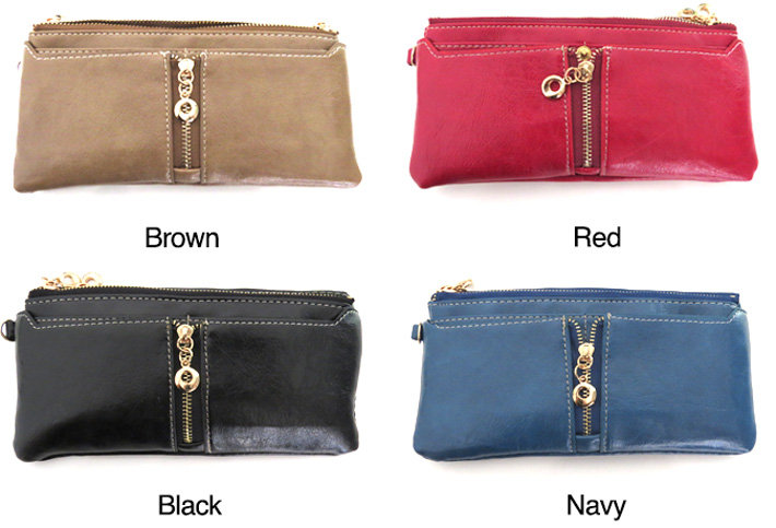 2-in-1 Women's Zipper Wallet