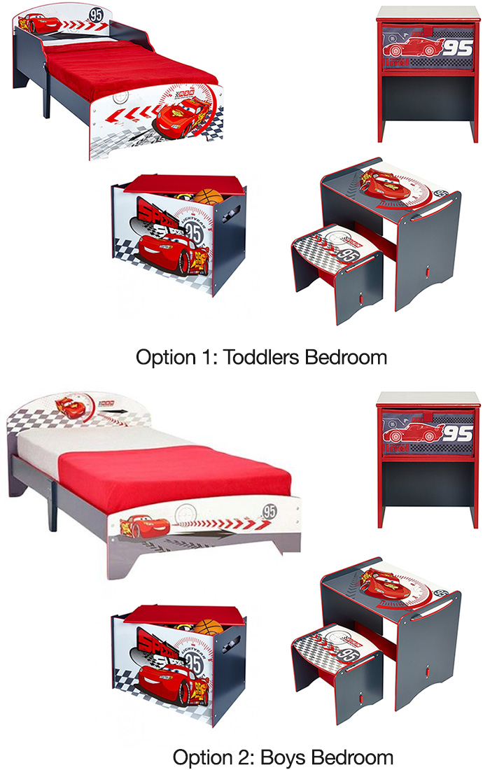 Disney Cars Toddlers / Boys Bedroom