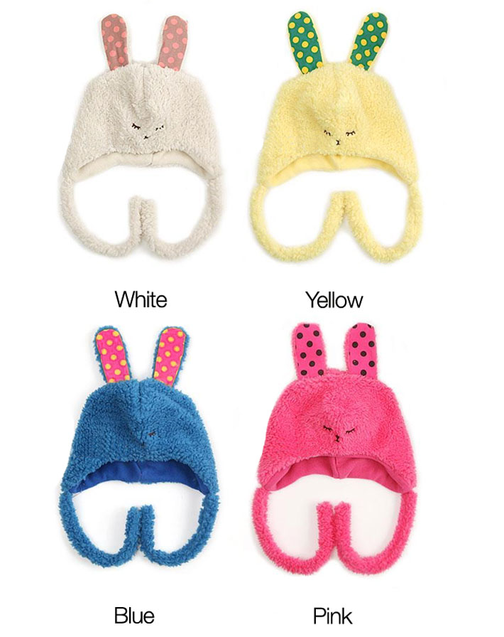 Kids Winter Bunny Hats